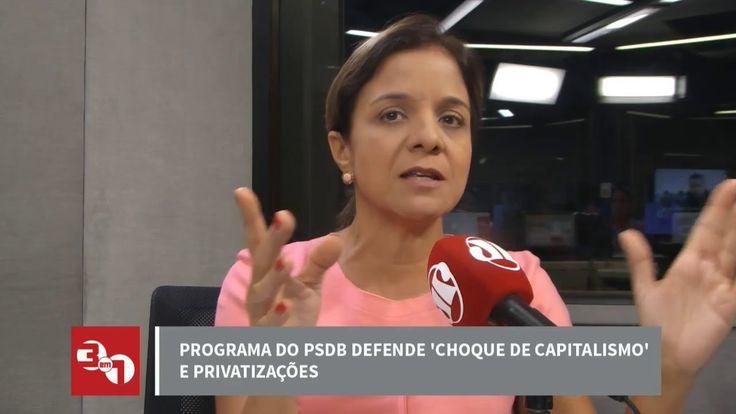 Programa do PSDB defende 'choque de capitalismo' e privatizações