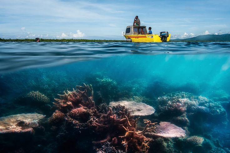 Vanuatu consists of 83 islands in the South West Pacific; the four main islands being: Espiritu Santo, Malekula, Efate, and Tanna - Vanuatu Travel Notes - http://tnot.es/VU