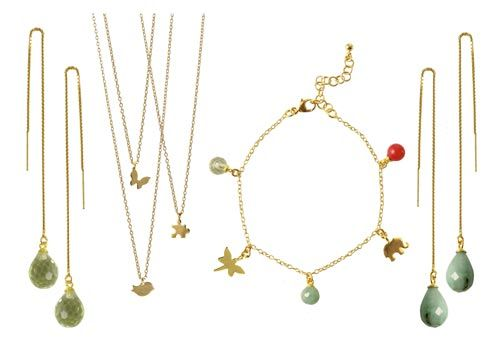 smykker med charms