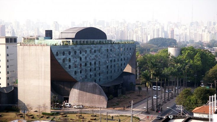 Half-moon shape - Hotel Unique, Sao Paulo, #Brazil #luxurydreamhotels