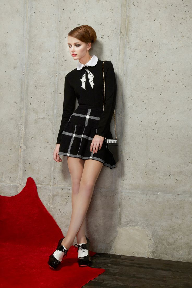 Alice + Olivia Pre-Fall 2014 - Collection - Gallery - Look 1 - Style.com
