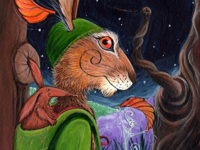 Matlock the Hare - The Puzzle of the Tillian Wand. by Phil and Jacqui Lovesey — Our Kickstarter Video!!
