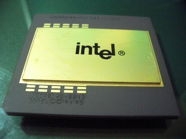 Vintage New Old Stock Intel KB80521EX 133 Pentium Pro Engineer Sample ES CPU