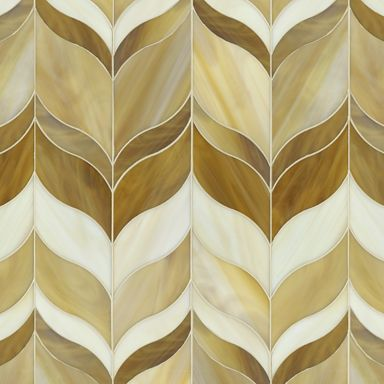 Beau Monde Glass Mosaics marilyn small mosaic in absolute white, lavastone, and labradorite.  Special Order SKU: AS12619 face taped  $132./sq. ft.