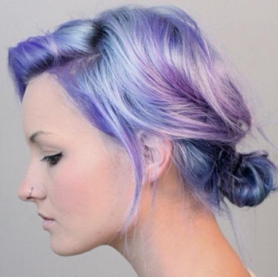 pastel ombre hair | Corvus Noir