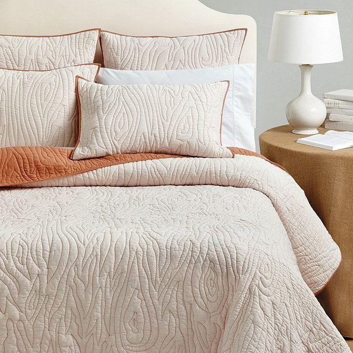 Faux Bois Quilted Bedding Ballard Designs Quilt