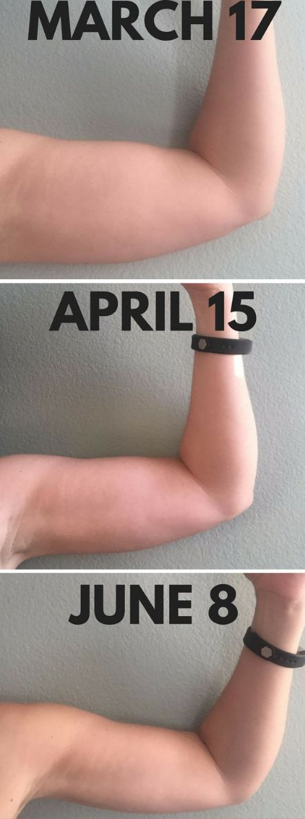 How I Got Rid Of Arm Flab In Time For Summer – Toned