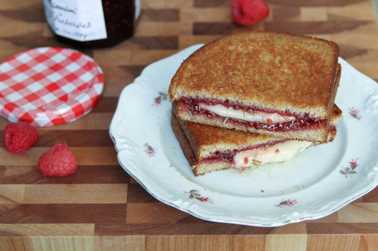 Raspberry, Brown Sugar, and Mozzarella Panini   Recipes to try ...