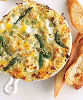 Yum! Spring vegetable and goat cheese dip.: Fun Recipes, Spring Vegetables, Artichokes, Goatche, Food, Goats Cheese Dips, Goats Chee Dips, Spring Veggies, Goat Cheese
