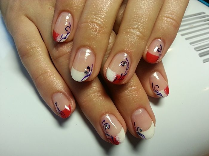 One more beautiful nail design