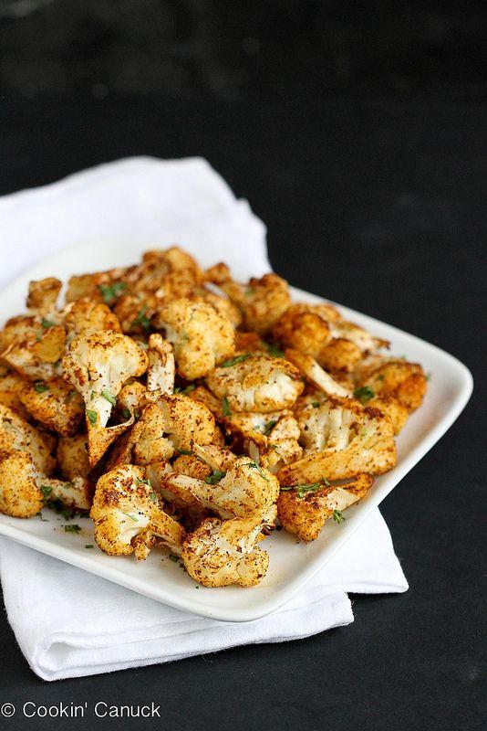 Give cauliflower a kick! Southwestern Roasted Cauliflower with Cumin & Paprika | Cookin' Canuck
