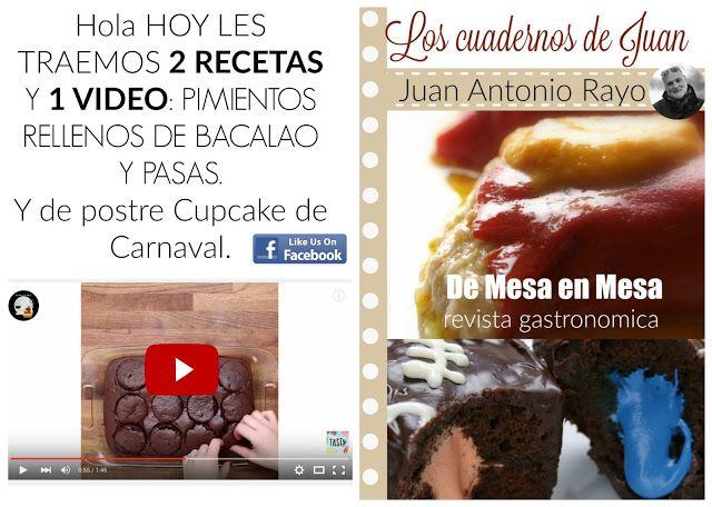 De Mesa En Mesa Revista Gastronomica: 2 Recetas faciles para Carnaval, 1 principal de Ba...