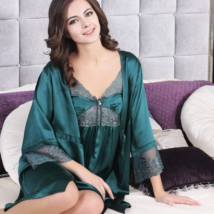 17 Best images about 100% Silk Pajamas UK on Pinterest | Lace ...