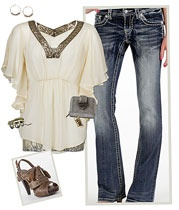 .: Women Outfit, Date Night, Cute Tops, Shirts, Buckles Jeans, Cute Outfit, Heels, Pretty Persua, The Buckles Outfit