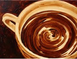 paint coffee - Google Search