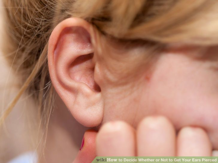 Image titled Decide Whether or Not to Get Your Ears Pierced Step 1