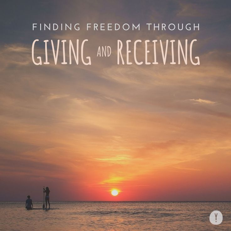 The ebb and flow of giving and receiving can be a pathway to an enlightened freedom. With practice, each moment is an opportunity to receive this moment and cultivate aliveness, presence and deep compassion.