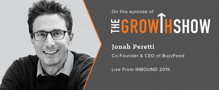 Check out this interview from INBOUND 2015 with BuzzFeed and Huffington Post founder Jonah Peretti.