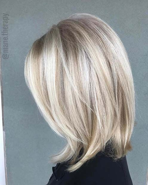 21 Chic Blonde Balayage Looks for Fall and Winter