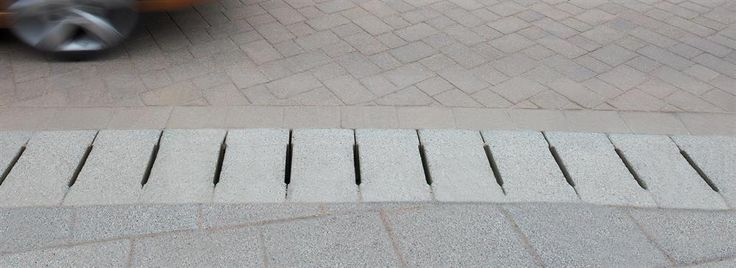 Max-E Channel Heavy Duty Linear Drainage System - Max-E Channel is a HIGH capacity system. Max-E channel complements the Beany range to ensure continuity between kerb and slot drainage. Max-E-Channel's top units are laid level with the pavement surface to provide a high capacity, integrated surface water solution.