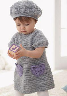 Sweet lil' ... I Heart My Dress: free pattern ~ free crochet patterns~