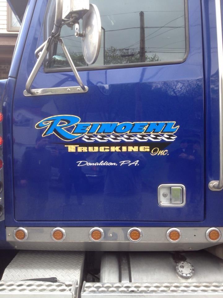 Tractor-trailer door lettering | Trucks and tractor ...