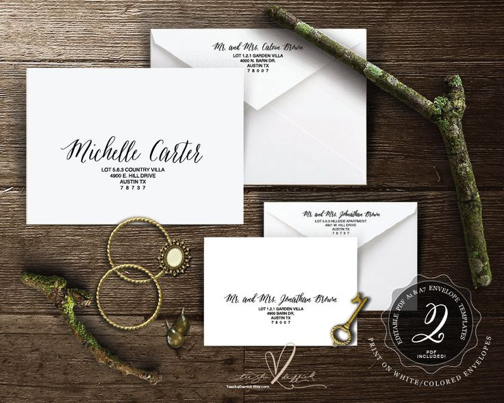 38 best wedding envelope template images on pinterest envelopes