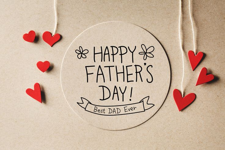 HappyFathersDay to all the #BestDadsEver out there!