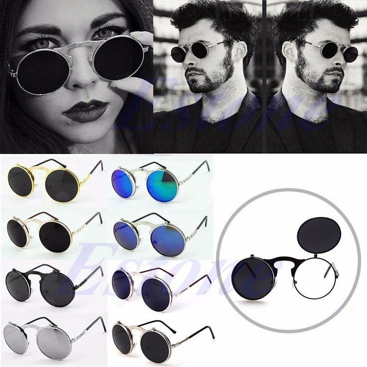 Unisex Gothic Steampunk Mens Sunglasses Coating Mirrored Sunglasses Round Circle Sun glasses Retro Vintage Gafas de Sol   Read more at Bargain Paradise : http://www.nboempire.com/products/unisex-gothic-steampunk-mens-sunglasses-coating-mirrored-sunglasses-round-circle-sun-glasses-retro-vintage-gafas-de-sol/   100% brand new and high quality Material: Metal, Resin Color: Black, Rose Gold+Black, Gold+Black, Gold+ Orange Green, Silver+Black, Silver+Blue Silver, Silve