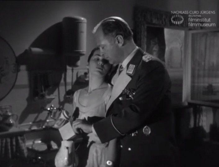 """DES TEUFELS GENERAL (1955) Filmausschnitt """"Kaffee kochen"""""""
