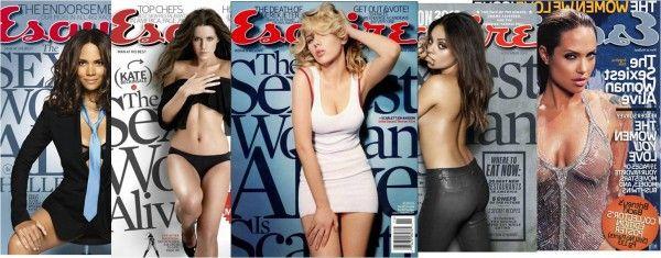 La revista americana Esquire acaba de nombrar a la mujer más sexy, por segunda vez, a la actriz Scarlett Johansson. En forma de homenaje,la revista GQ francesa recordó a las 10 camaradas sexi(y)s que obtuvieron este título. http://magazinederevistas.com.ar/2013/10/10-anos-sexiys-de-esquire/