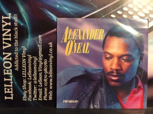 Alexander O'Neal Hearsay LP Album Vinyl Record 450936-1 Soul Pop 80's Music:Records:Albums/ LPs:Pop:1980s