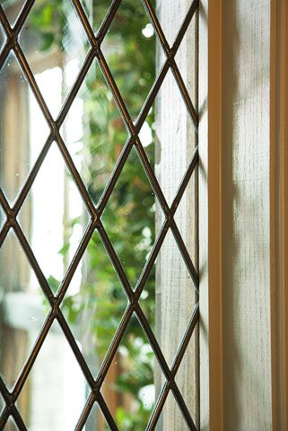 beautiful leaded windows {Linda McDougald Design | Postcard from Paris}