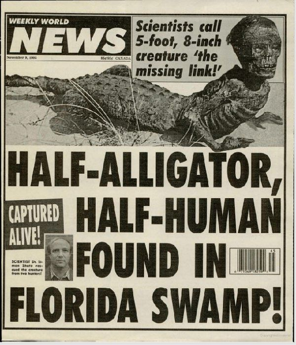 "Meet ""Mr. Jake, The Alligator Man"" Who Found In Florida Swamp"