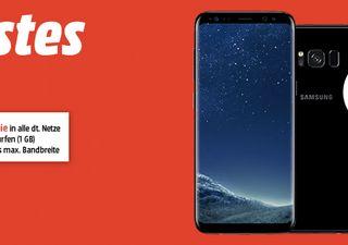 Knaller! Samsung Galaxy S8 Aktion bei Media Markt - viele Verträge mit effektivem Gewinn