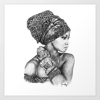 17 best images about african design ideas for future for Black african queen tattoos