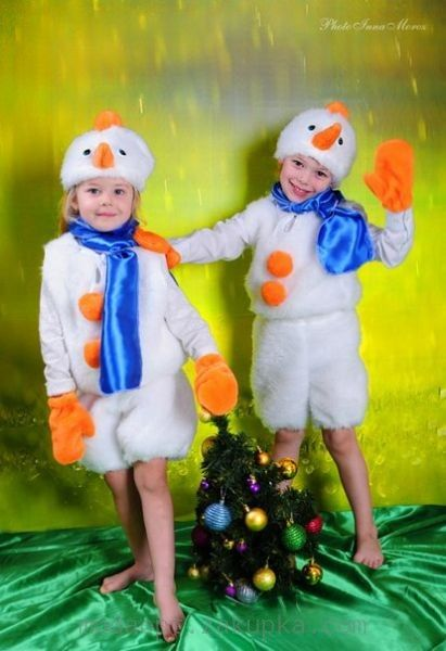 """Карнавальный костюм """"Снеговики"""" в Днепропетровской области по низким ценам"""