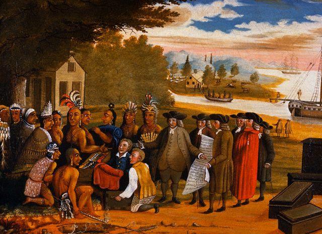 pennsylvania native american relationship
