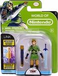 """Link 4"""" Figure with Mystery Accessory Manufacturer: Jakks Pacific Series: World of Nintendo Release Date: August 2014 For ages: 4 and up UPC: 039897685212 Details (Description): World of Nintendo Legend of Zelda 4"""" Link Figure with 5 points of articulation and comes with Mystery Accessory!"""