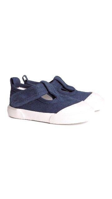 H&M HOME, vauvan kengät, kangasta, tummansininen