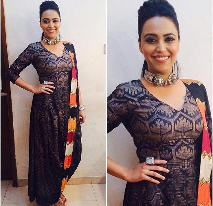 Swati vijaivargi# draped look# Indian fashion #amrapali jewels