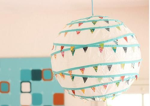 Couches and Cupcakes: Greatest Washi Tape Decor Ideas--washi tape banner