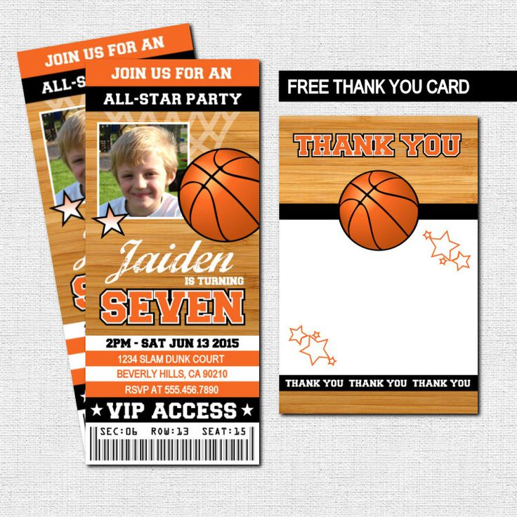 Printable Birthday Party Invitation Card Detroit Lions: Best 20+ Basketball Tickets Ideas On Pinterest