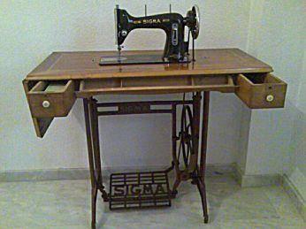 Máquina de Coser SIGMA Con su Mesa y todo del año 1962   Coleccionismo. Portal para coleccionistas, hobbys Anuncios Gratis,