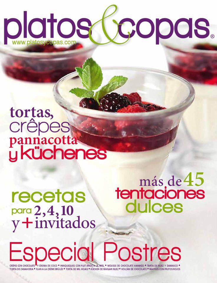 Platos&Copas 63  Especial de postres
