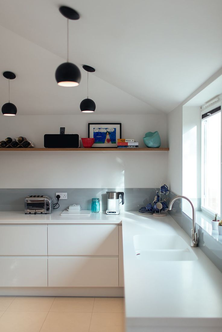 corian worktop grey splashback wooden shelf: corian kitchen top