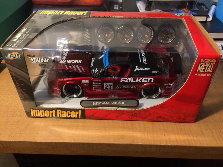 Cool Awesome Jada 1 24 Import Racer Nissan 240SX 2018