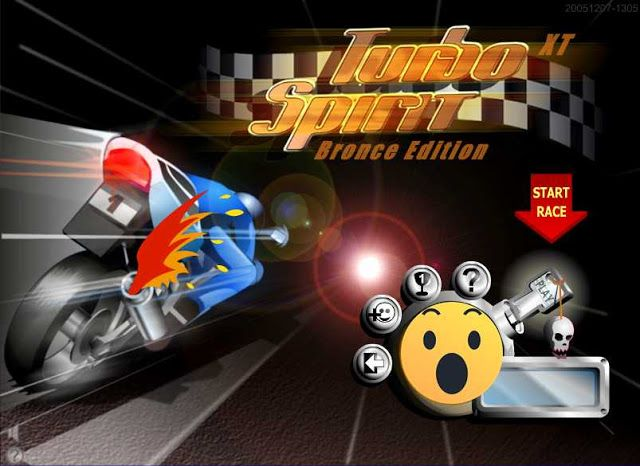 واااو لعبة الدراجات النارية التوربو الجديدة سباق جميل ومثير هذه اللعبة ضخمة جدا وفيها الكثير من أنواع السباقات البرونز والفضة والذهب وفيها طرق لثلاث دول Turbo