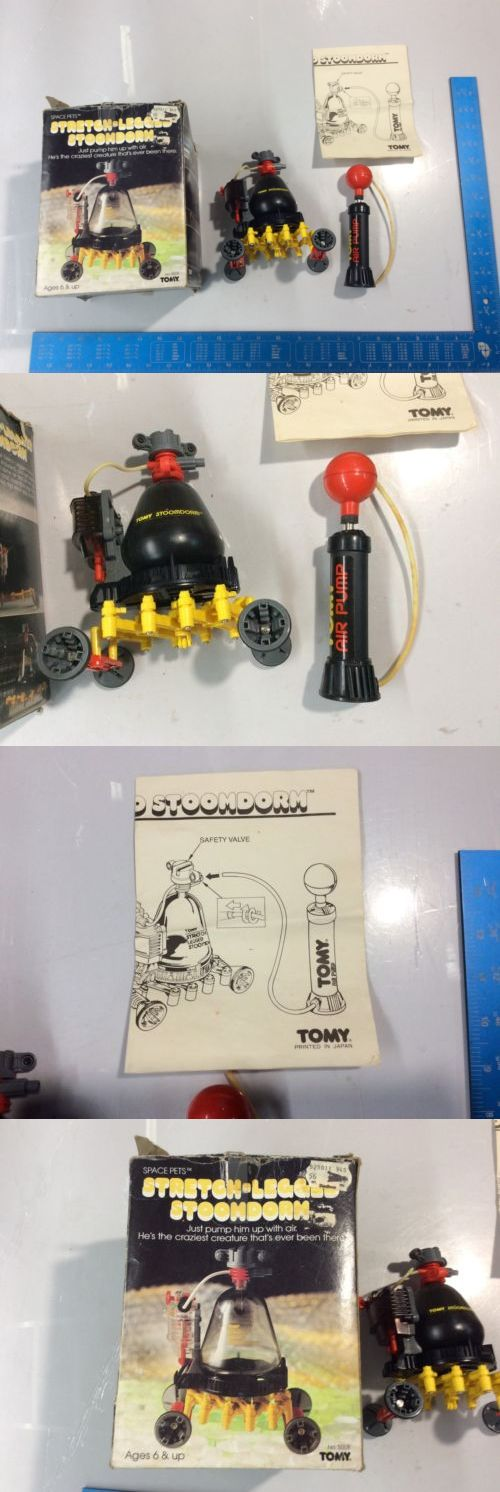 1970-Now 1187: New Tomy Space Pets Stretch-Legged Stoomdorm Robot With Air Pump Untested E -> BUY IT NOW ONLY: $119.99 on eBay!