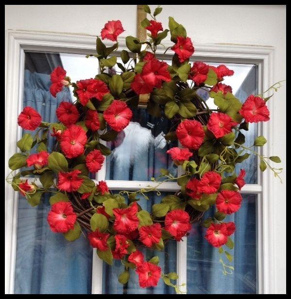 Petunia Wreath | Spring Wreath | Summer Wreath